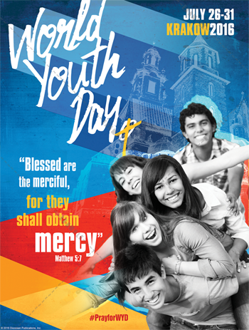 World Youth Day Bulletin Cover & Wrapper B – Diocesan