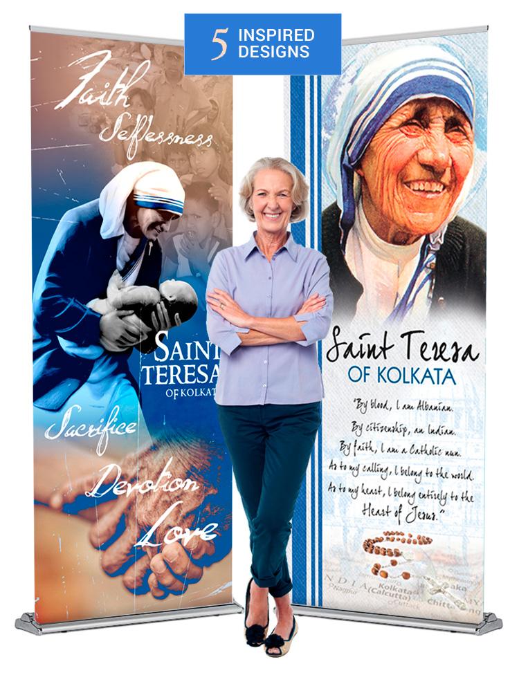 5 Saint Teresa banners