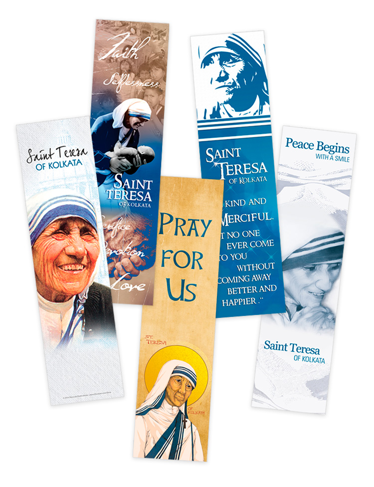 Saint Teresa Bookmarks
