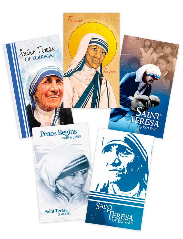 Saint Teresa Prayer Cards