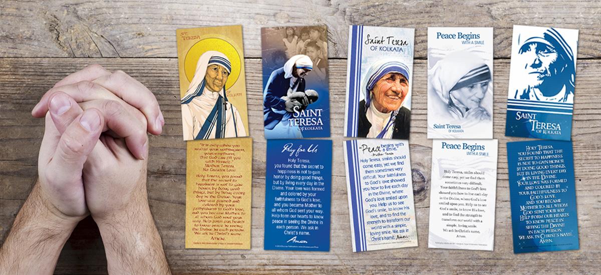 Saint Teresa Prayer Cards