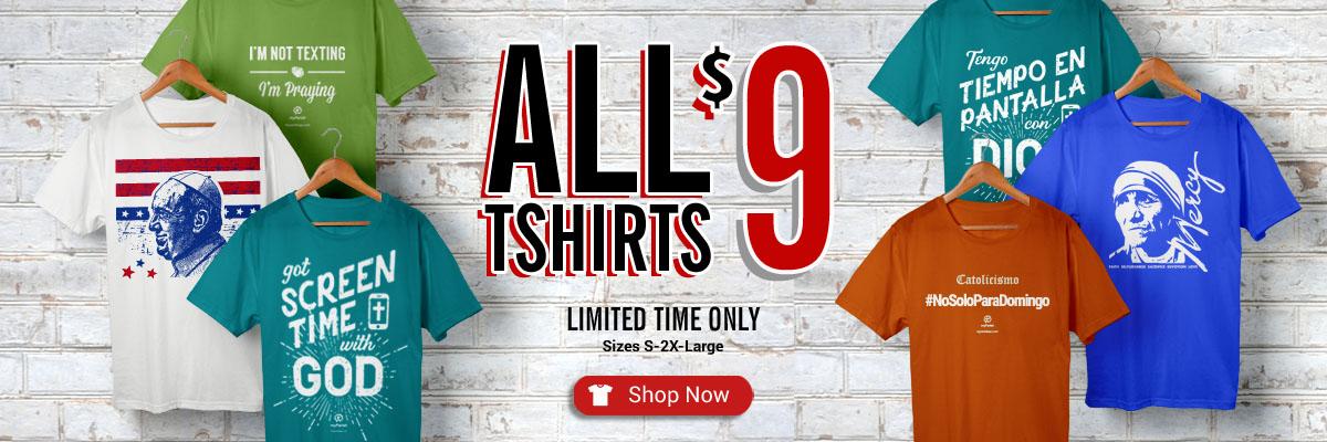 All Shirts $9