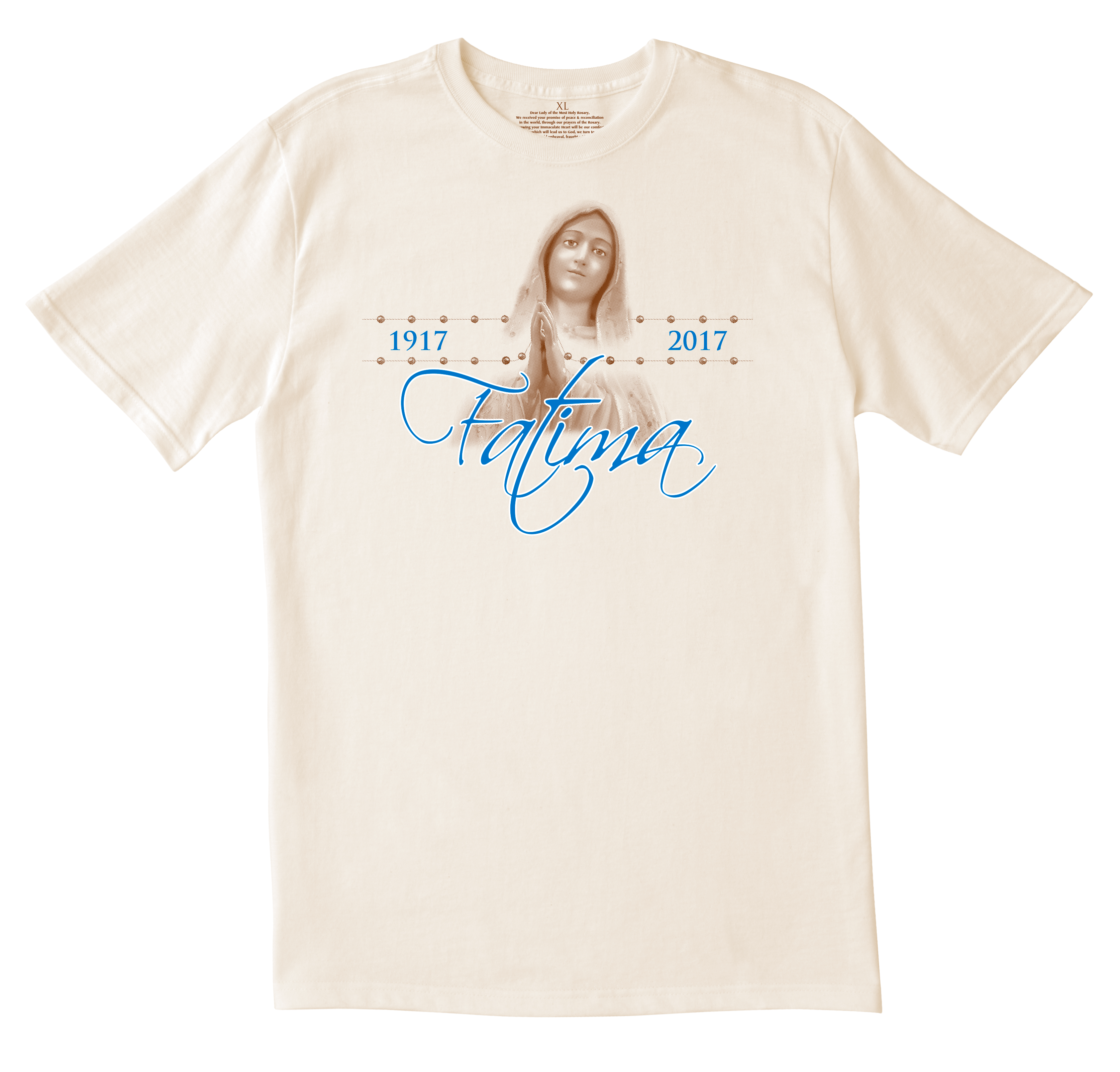 Our lady of fatima 100th anniversary tshirt diocesan for T shirt design store near me