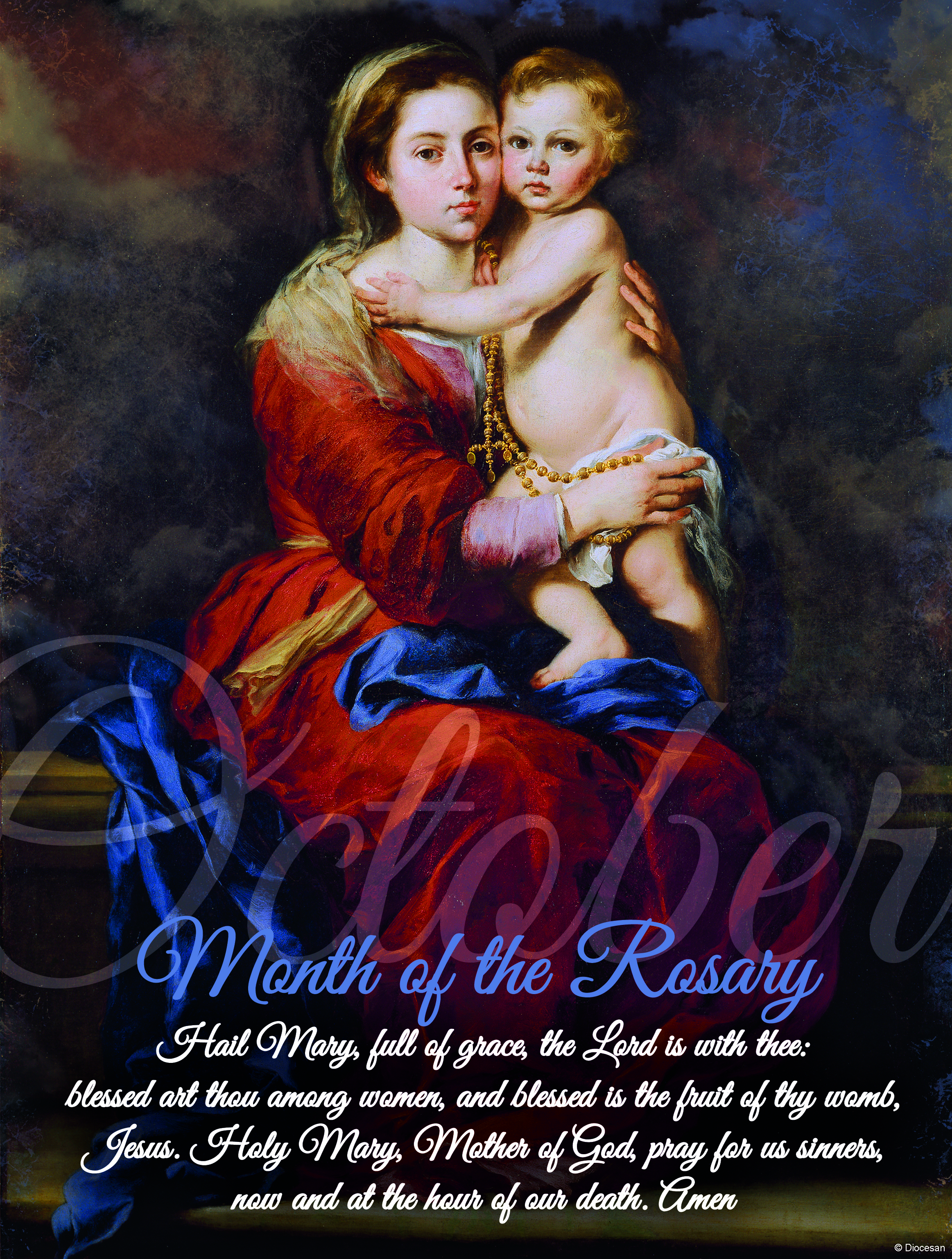 October - Dedicated to the Rosary - B