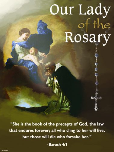 October - Dedicated to the Rosary - C