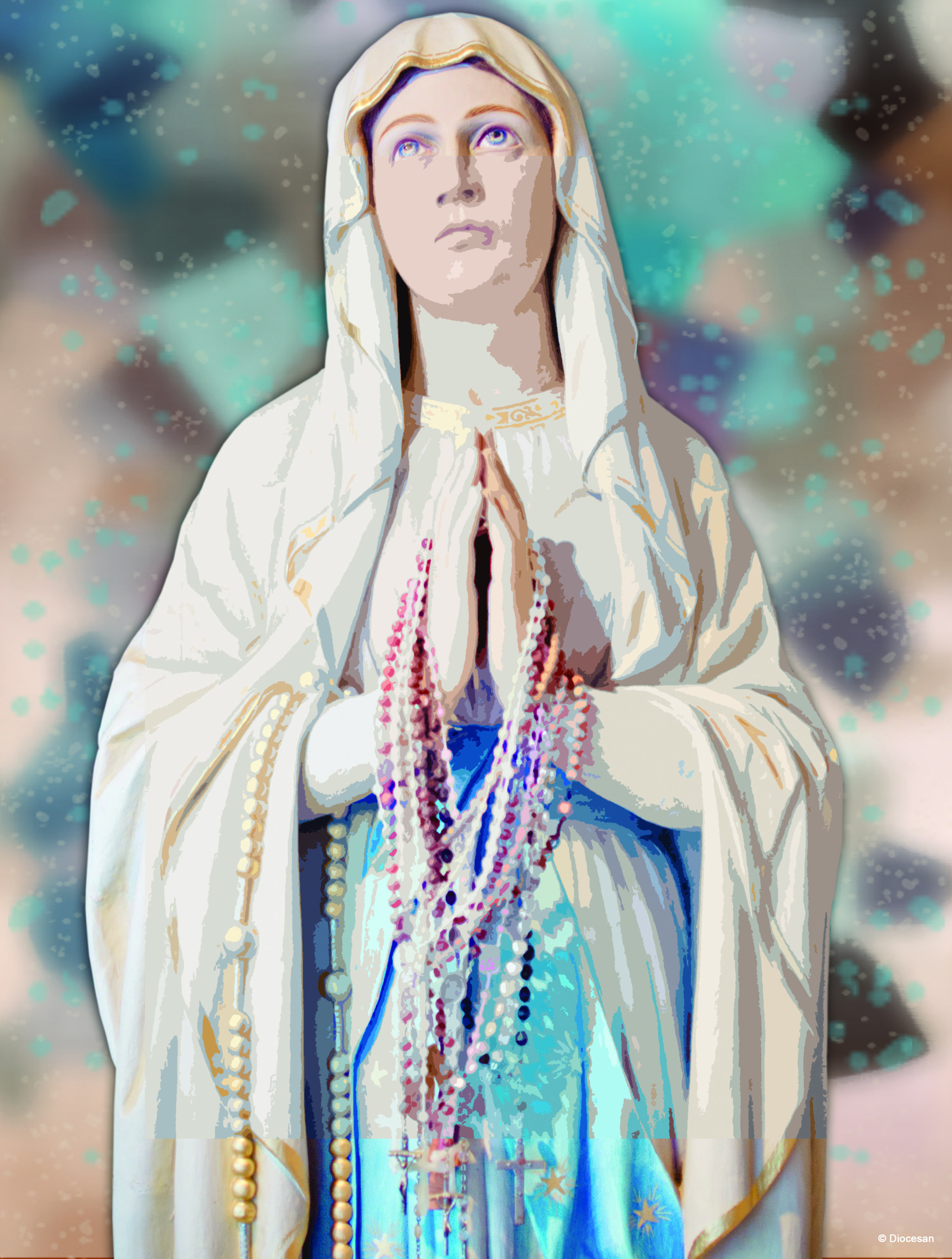 October - Dedicated to the Rosary - E