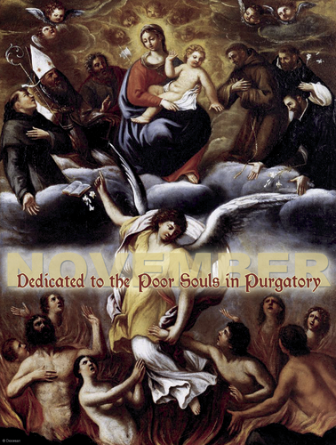 November - Dedicated to the Souls in Purgatory - A