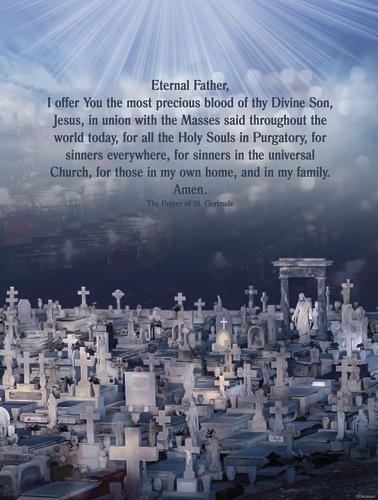 November - Dedicated to the Souls in Purgatory - B