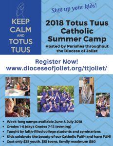 Bulletin 1_4 page 2018 Totus Tuus
