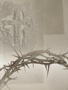 Ash Wednesday Crown Artwork
