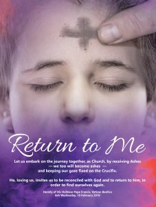 Ash Wednesday Return to Me