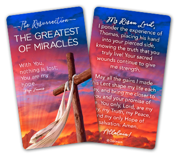 Easter Prayer Cards