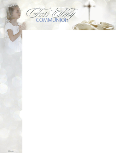 First Communion Child Wrapper