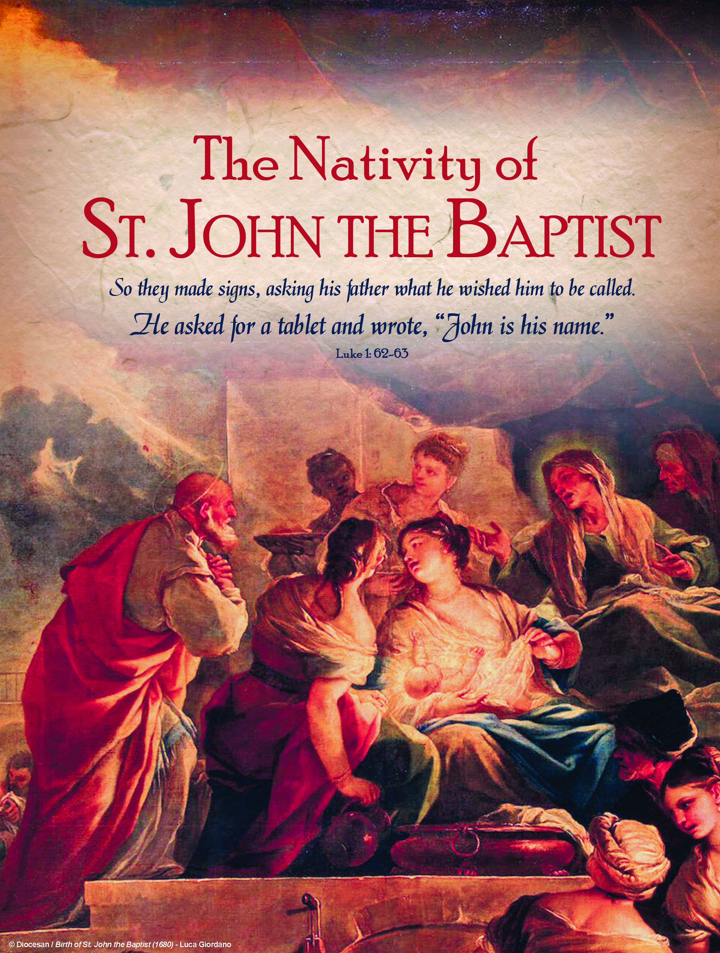 John the Baptist 2018 Traditional