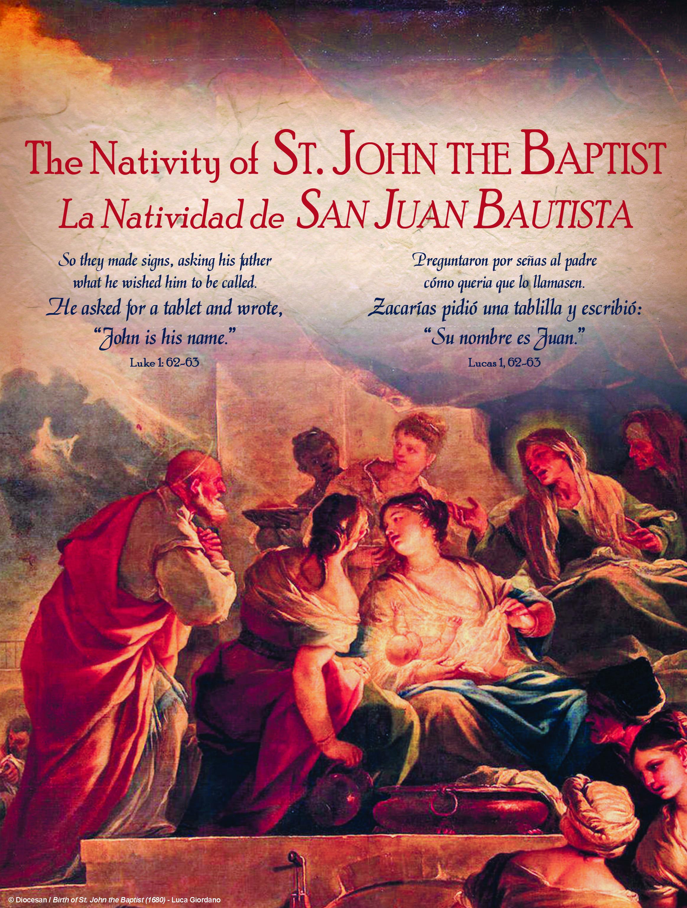 John the Baptist 2018 Traditional Bilingual