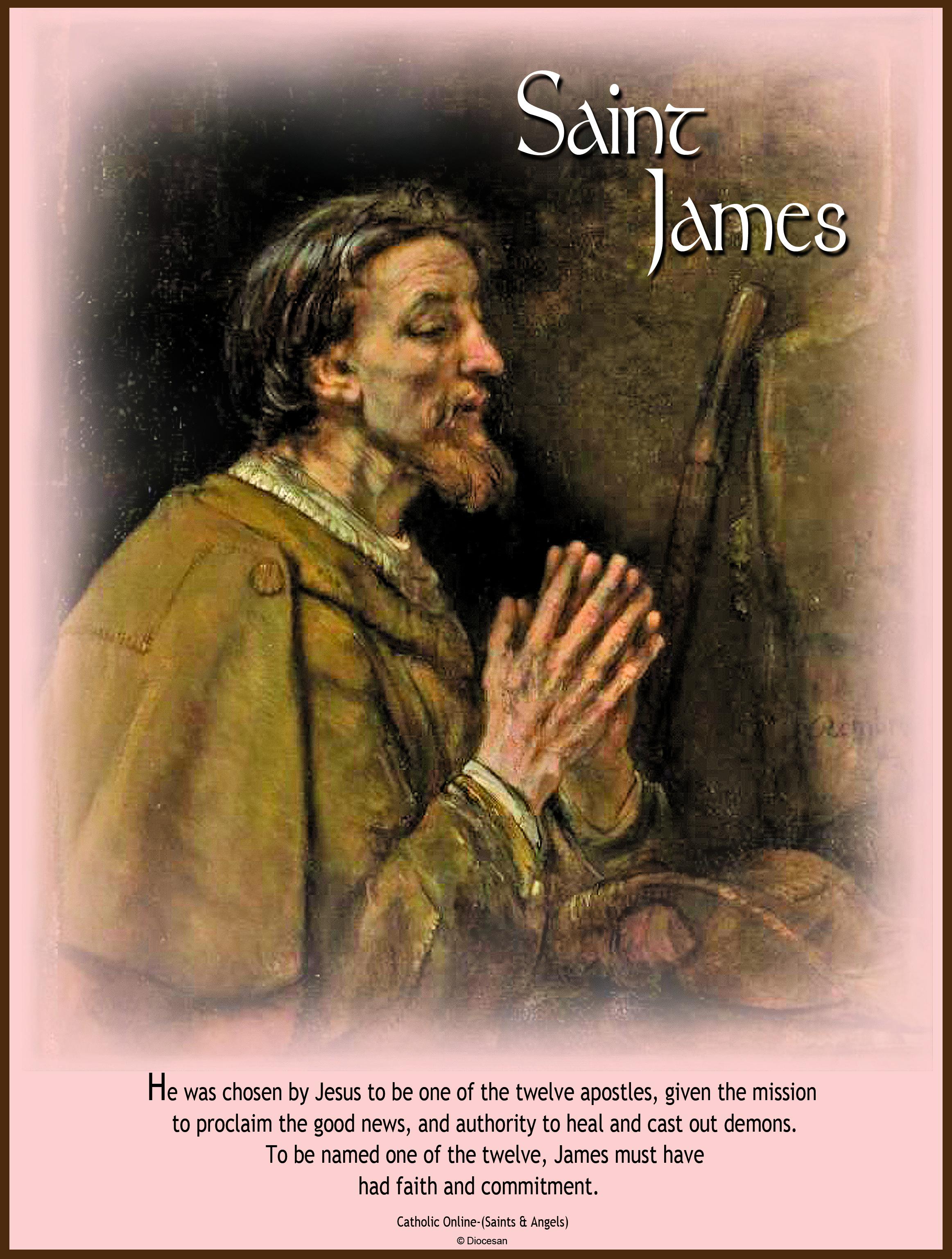 St. James in Prayer
