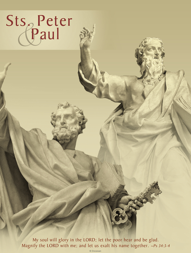 Sts. Peter and Paul Statues
