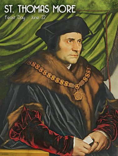 St Thomas More Portrait