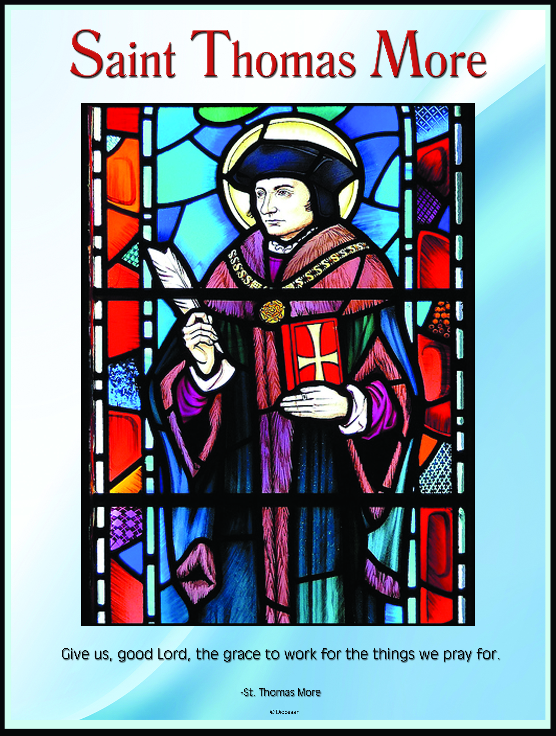 St Thomas More Stained Glass