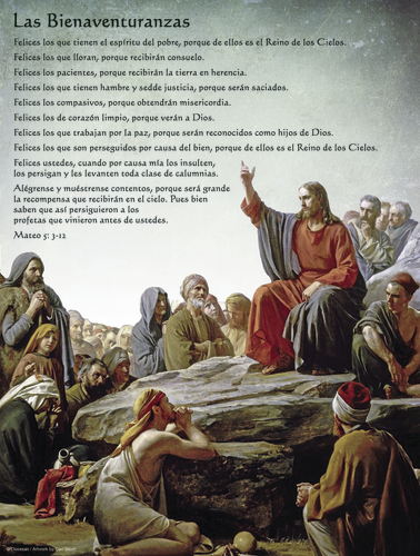 The Beatitudes Spanish
