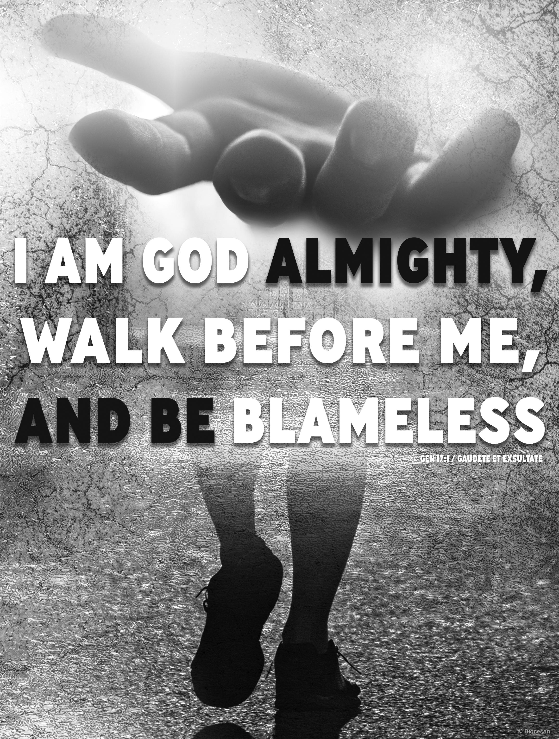 Walk Before Me