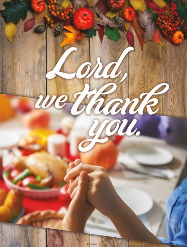 Lord We Thank You