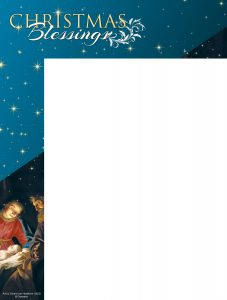 Christmas Blessings Wrapper