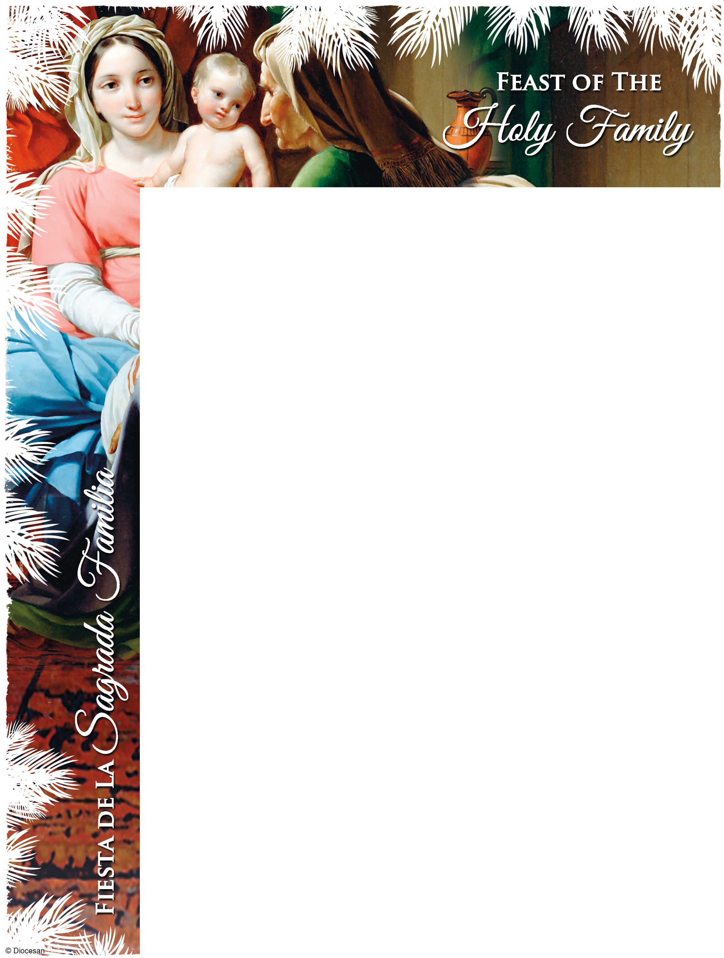 Feast of the Holy Family Bilingual Wrapper