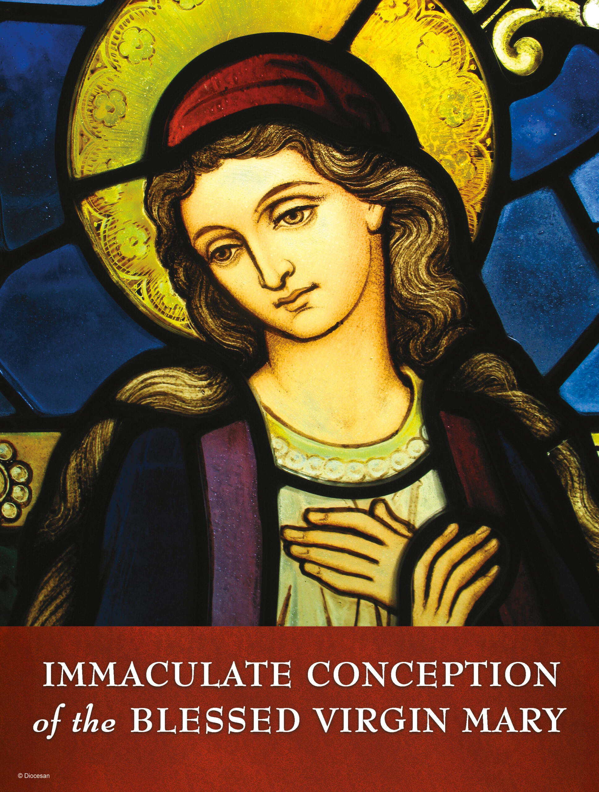 Immaculate Conception Stained Glass