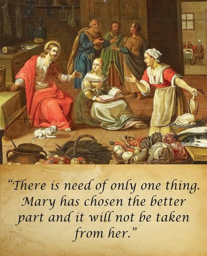16th Sunday in Ordinary Time - Gospel - English