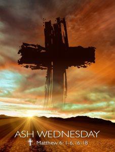Ash Wednesday Desert