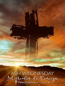 Ash Wednesday Desert Bilingual
