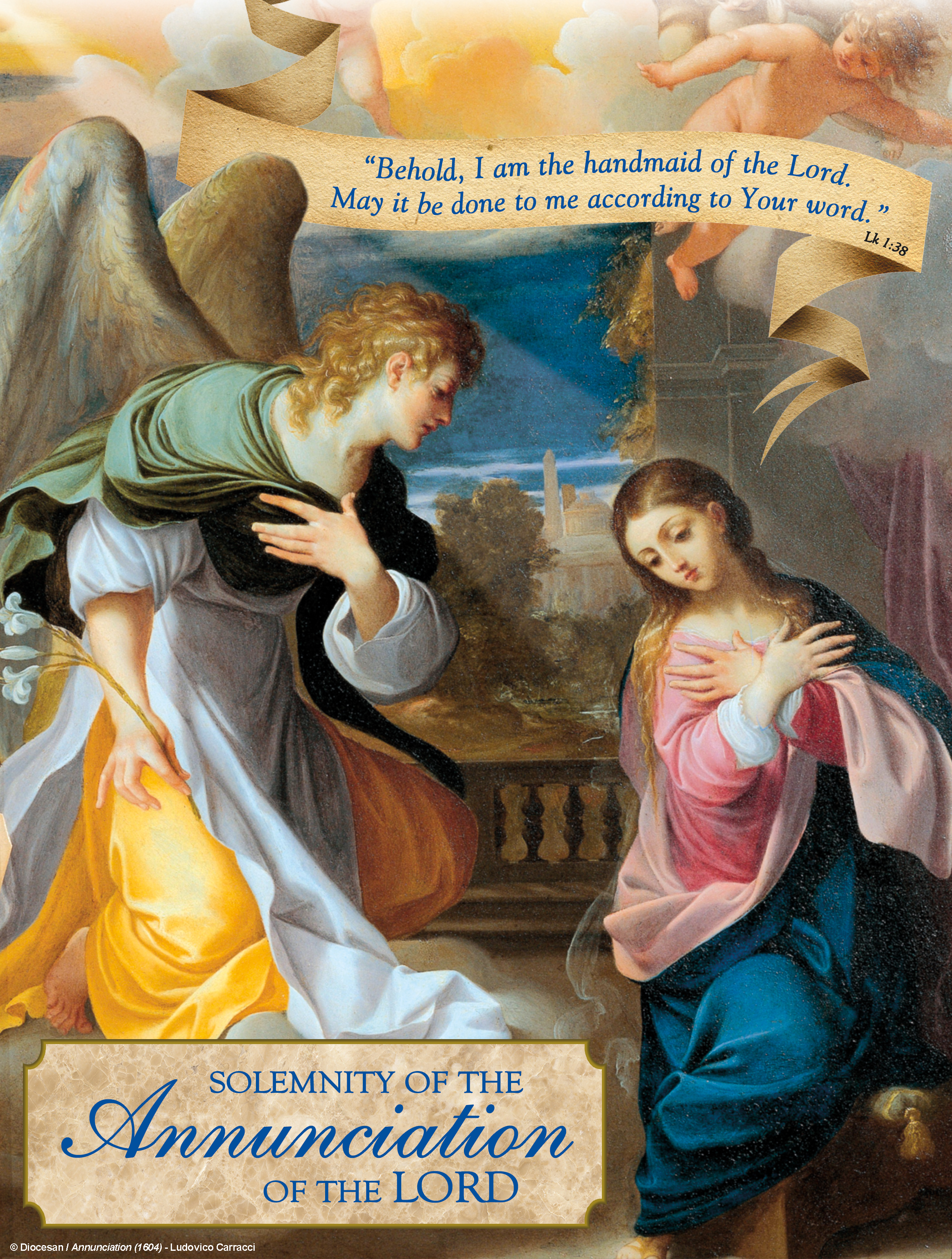 Annunciation - According to Your Word