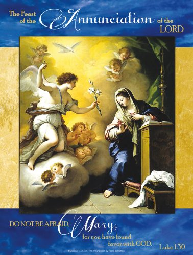 Annunciation of the Lord Blue
