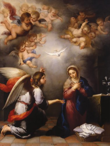 Solemnity of the Annunciation of the Lord Artwork