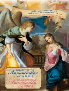 Annunciation - According to Your Word Bilingual