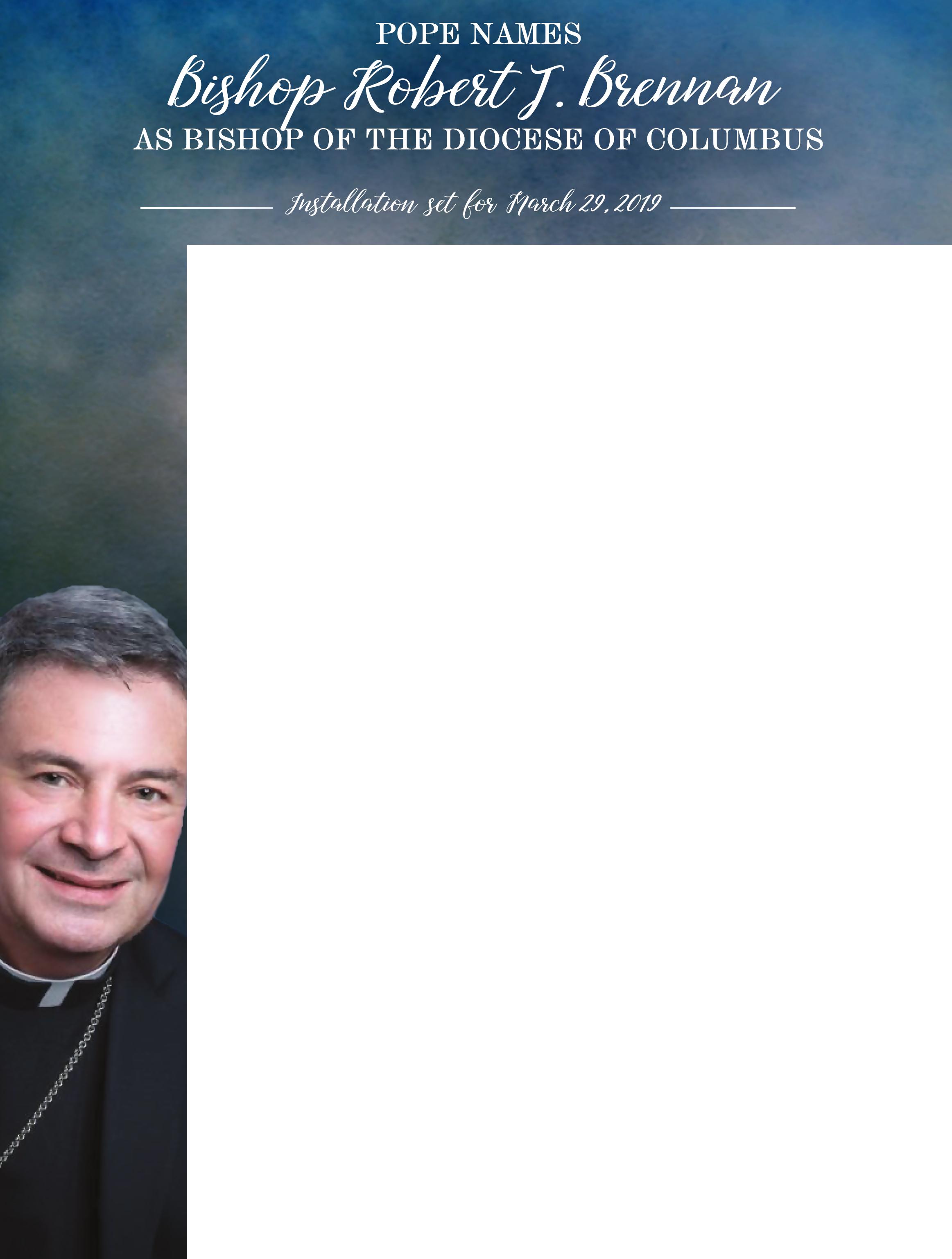 Bishop Robert J Brennan Wrapper