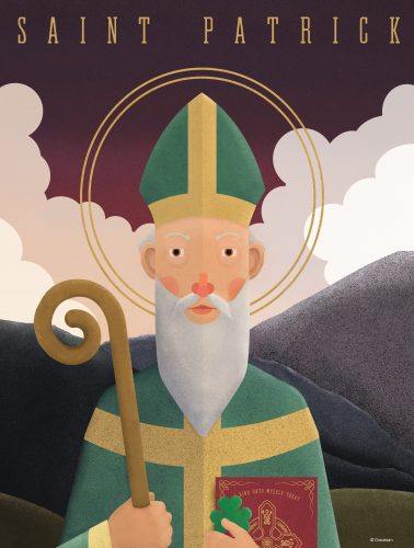 St. Patrick - I Bind Unto Myself Today