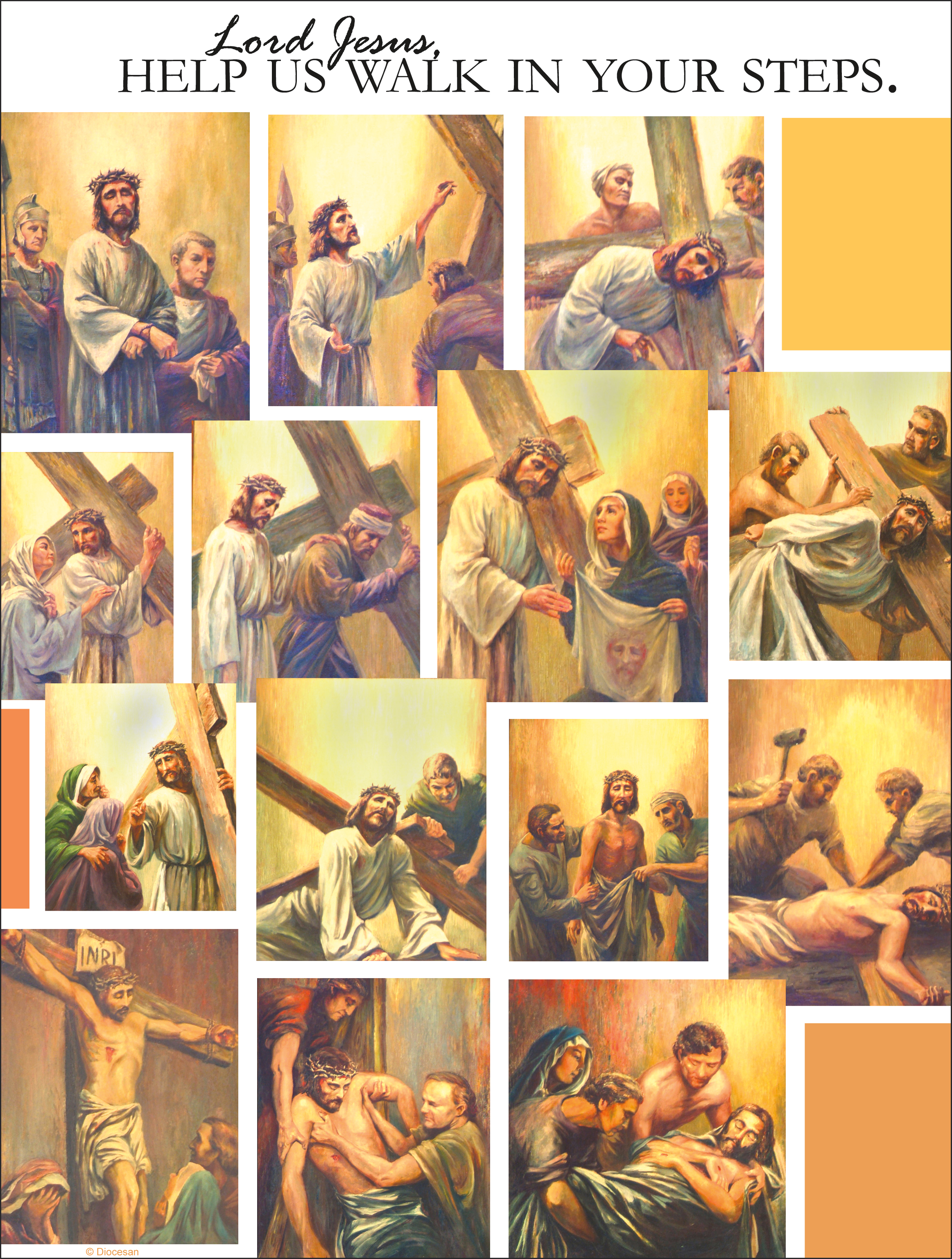 Stations of the Cross Gold
