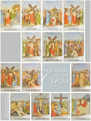 Stations of the Cross Gray
