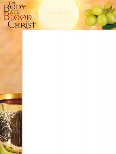 Body and Blood of Christ Altar - Wrapper