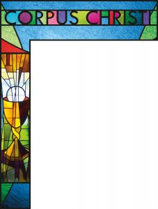 Corpus Christi Stained Glass - Wrapper