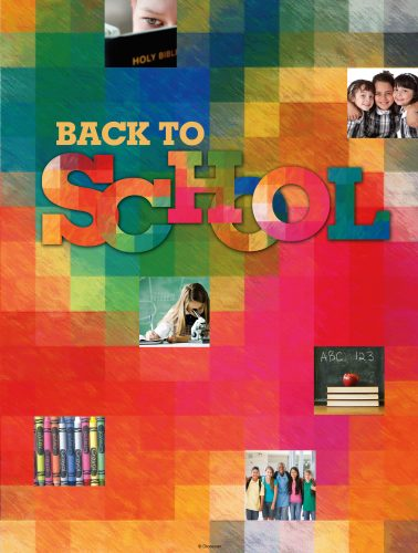 Back to School Colorful