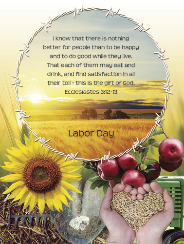 Labor Day - Gifts from God
