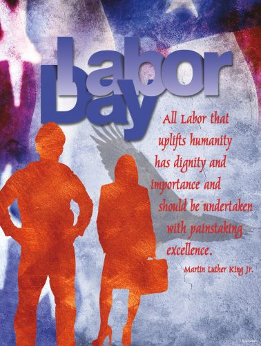 Labor Day - MLK Quote