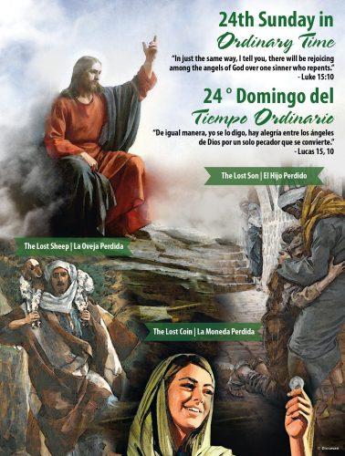 24th Sunday - Rejoice - Bilingual