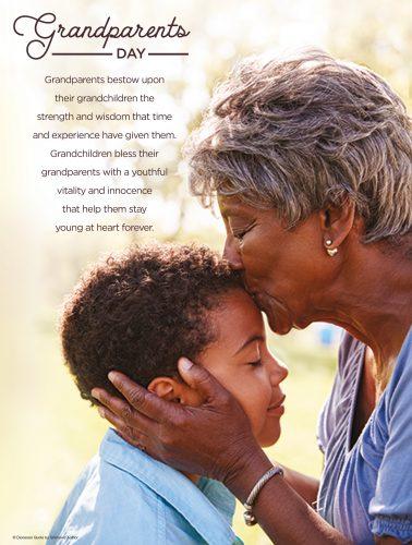 Grandparents Day Kiss