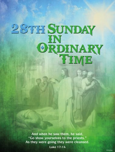 28th Sunday - Cleansing of Lepers