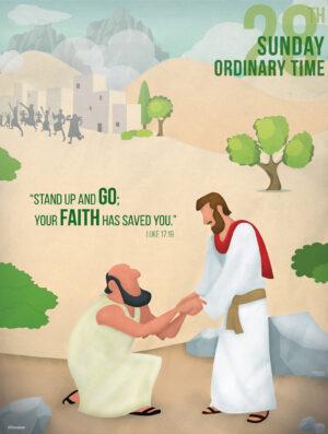 Ordinary Time - Week 28 - Saved by Faith