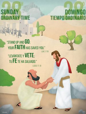 Ordinary Time - Week 28 - Saved by Faith - Bilingual